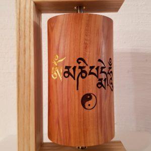 Gebetsmühle Om mani padme hum, Yin Yang & So schee scho #18